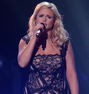 Miranda Lambert Tears Up During Oklahoma Benefit