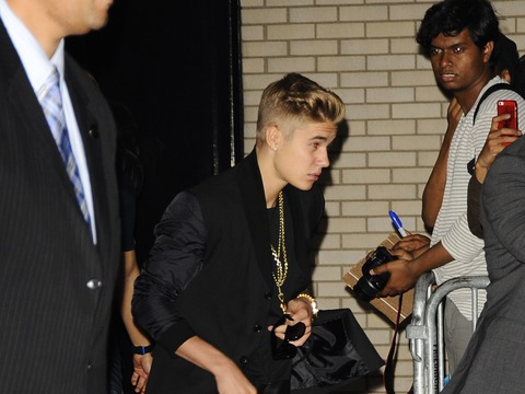 Justin Bieber Goes Clubbin' in the Big Apple