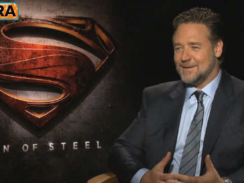 'Man of Steel': Russell Crowe's 'Holy S**t' Moment Playing Superman's Father