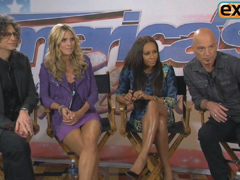'Extra' Raw! Hangin' with the 'AGT' Judges