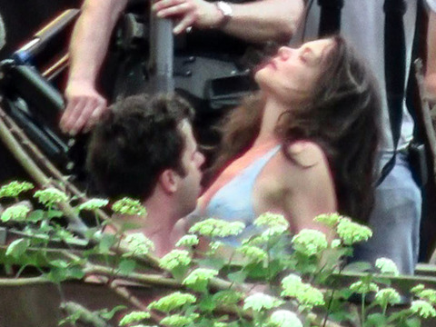 Pics! Katie Holmes' Sexy Scenes with 'Mania' Co-Star