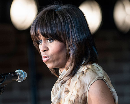 First Lady Michelle Obama Shuts Down Heckler