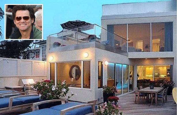 Pics! Jim Carrey Sells $13-Million Malibu Pad