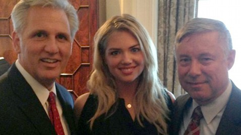 Kate Upton Shares 21st Birthday Celebration… with Politicians?