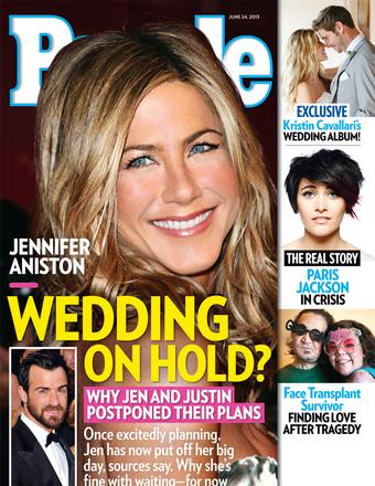 Jennifer Aniston Wedding On Hold Again