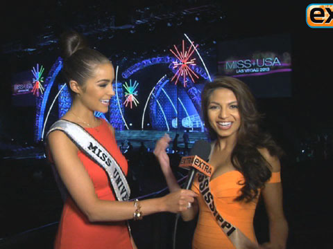 'Extra' Raw! Backstage with the Miss USA Contestants