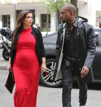 Kanye Splits for Switzerland, Kim Kardashian Deals with Cheating Story