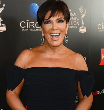 Kris Jenner 'Excited' About Baby, Says Kim K Is Doing 'Great'