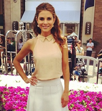 Maria Menounos' 'Look of the Day' Snapshots