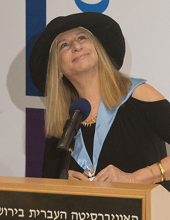 Barbra Streisand Voices Concern for Women in Israel
