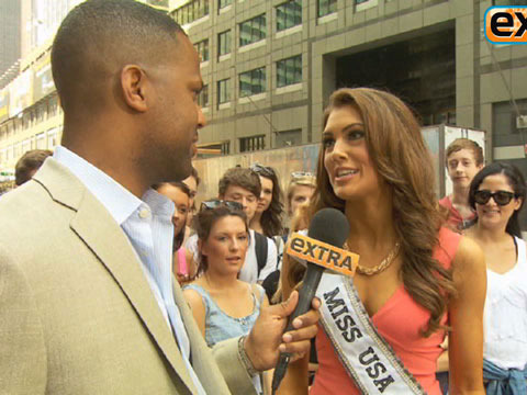 Miss USA Erin Brady on Miss Utah's Flub