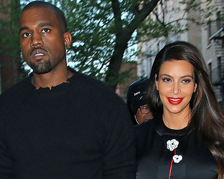 Kim, Kanye and Baby North West Leave the Hospital… Destination Unknown