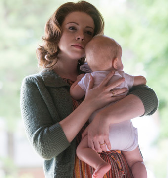 Pic! Michelle Trachtenberg as Marina Oswald in 'Killing Kennedy'