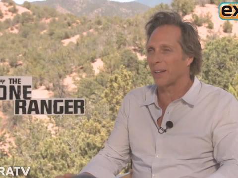 Video! 'Lone Ranger' Star William Fichtner Talks Stunts, Cowboy Boot Camp