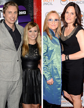 Kristen Bell and Dax Shepard, Melissa Etheridge to Wed After DOMA Decision