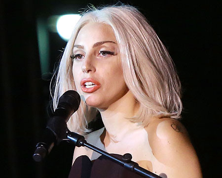 NYC Pride Rally: Lady Gaga Celebrates, Sings National Anthem