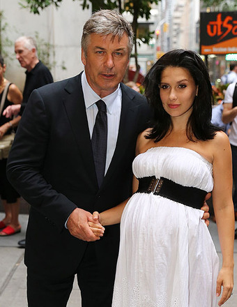 Hilaria and Alec Baldwin on Gandolfini Tweeting Accusations