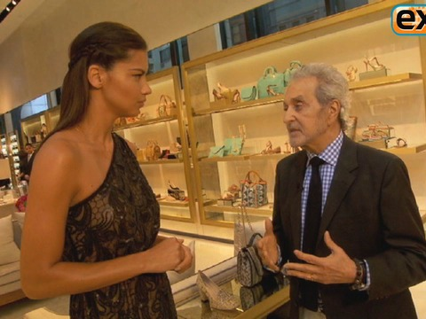 Adrianna Lima and Vince Camuto Talk Shoes