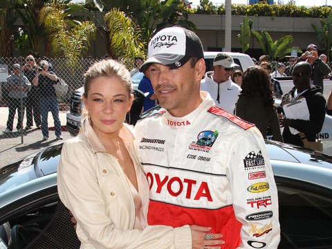 LeAnn Rimes on Eddie Cibrian's Boy Band