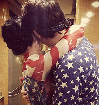 Pic! Katy Perry and John Mayer Get Cozy on July 4