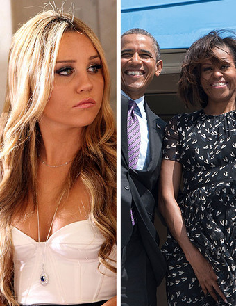 The President and First Lady Make Amanda Bynes 'Ugly' List