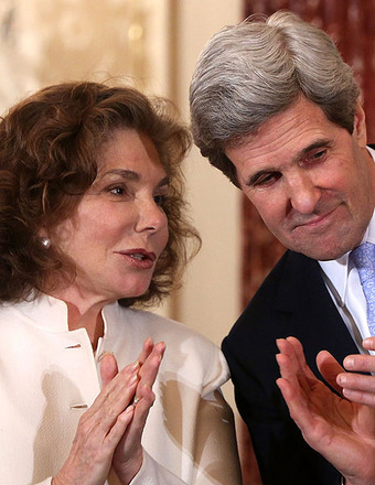 Teresa Heinz Kerry Hospitalized in Critical Condition