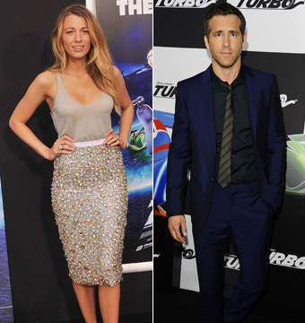 Blake Lively Steals Show at Ryan Reynolds' 'Turbo' Premiere