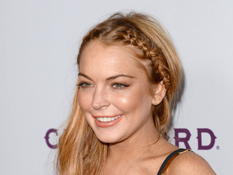 Lindsay Lohan All Smiles As She Checks Out of Rehab
