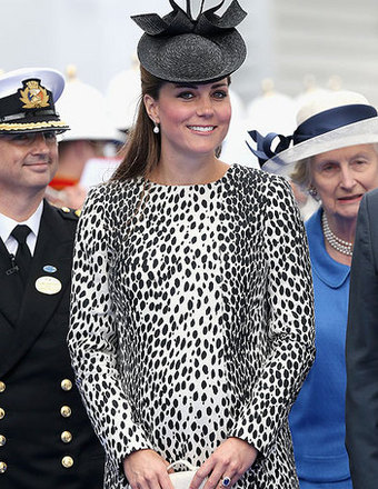 Royal Baby Watch: Kate Middleton Escapes the Summer Heat