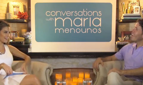 Video! Maria Menounos Has 'Conversations' with Perez Hilton