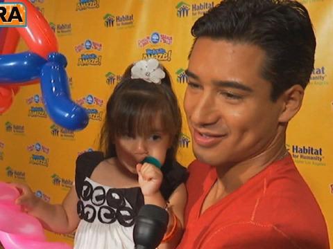 Video! Mario Lopez Takes His Family to the Circus