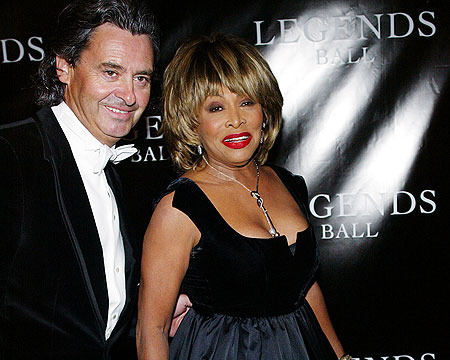 Tina Turner and Longtime Beau Tie the Knot