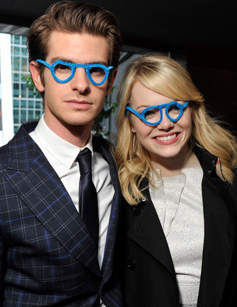 Andrew Garfield on Emma Stone: No 'Wet Fish' Chemistry Here