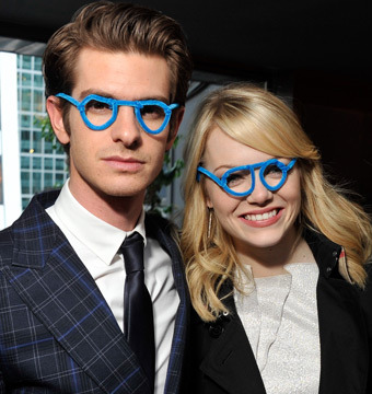 Andrew Garfield on Emma Stone: No 'Wet Fish' Chemistry Here