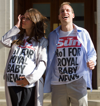 Pics! Royal Baby Watch Goes Into Overdrive Outside London Hospital