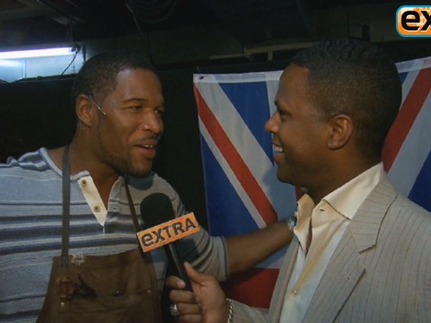 Michael Strahan: 'I Have Kinky Boots, What Can I Say?'