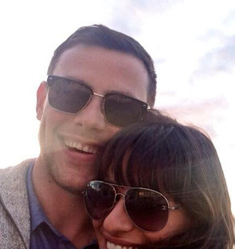 Lea Michele Tweets Heartbreaking Cory Monteith Pic and Message