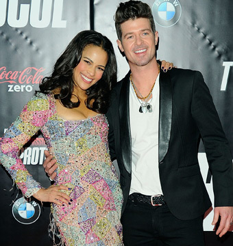 Robin Thicke: My Wife is a 'Naughty Bad Girl' Who 'Likes It All'