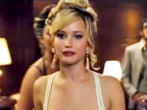 Jennifer Lawrence Strips to Lingerie in Hot 'American Hustle' Trailer