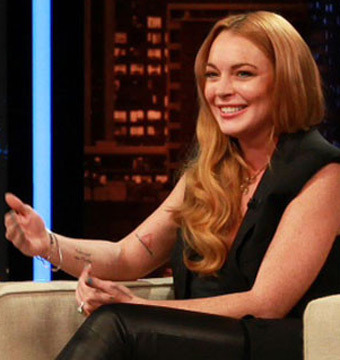 Video! Lindsay Lohan Pokes Fun at Harry Styles' Sex Life
