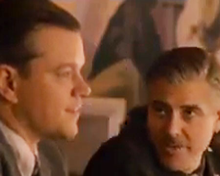 George Clooney and Matt Damon Are Art Lovin' 'Monuments Men'