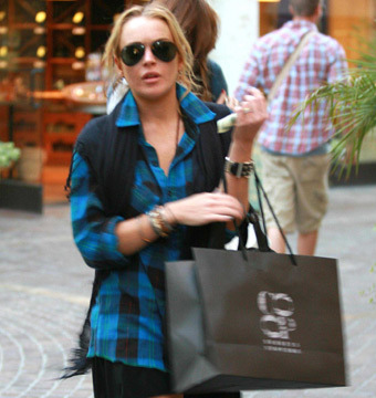 Report: Lindsay Lohan Has a New Addiction… Online Shopping