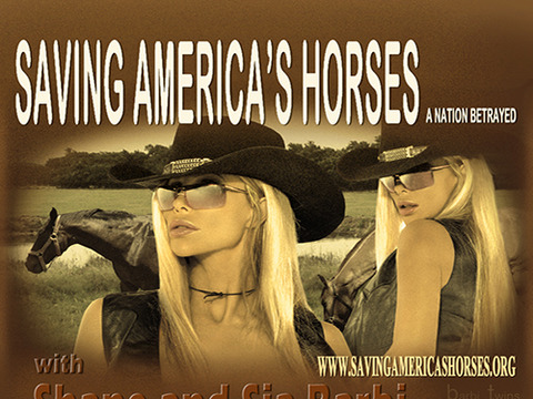 The Barbi Twins Are 'Saving America's Horse'