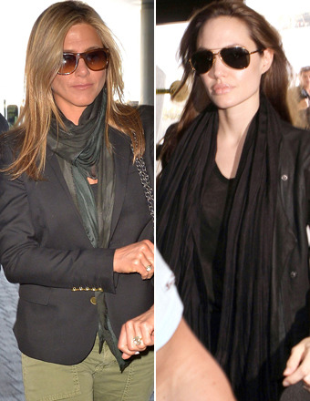 Report: Jennifer Aniston and Angelina Jolie Narrowly Miss Awkward Run-In