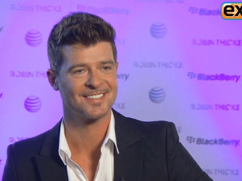 Robin Thicke on 'Blurred Lines,' His Wife Topless, and Favorite Parodies