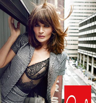 Pics! Helena Christensen's Nearly Naked Photo Shoot is Red Hot