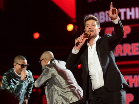 Robin Thicke Sues to Protect 'Blurred Lines' Against Claims by Marvin Gaye's Family