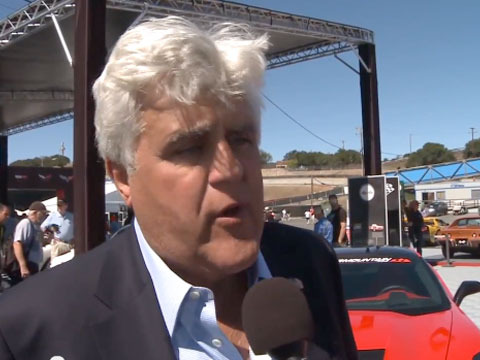 Video! Jay Leno Test Drives 2014 Chevy Corvette Stingray