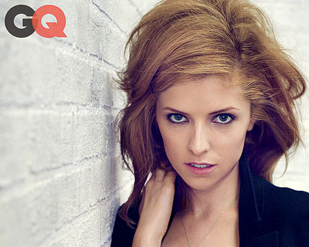 Anna Kendrick in a Black Bra, Gives Dating Tips