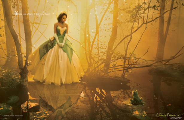 Jennifer Hudson's Disney Princess Photo Shoot with Annie Leibovitz